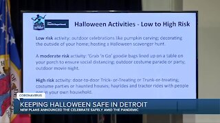 Planning on trick-or-treating? The City of Detroit offers these Halloween safety guidelines