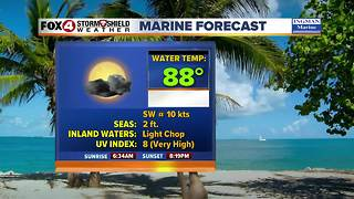 FORECAST: Hot & humid, storms possible 6-6 - Video