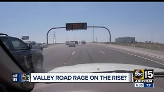 Valley road rage incidents continue to be major issue - Video