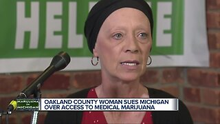 Oakland County woman sues Michigan over access to medical marijuana