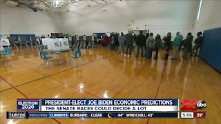 Biden campaign economic predictions