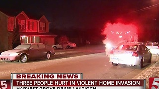 3 Sought In Violent Home Invasion In Antioch - Video