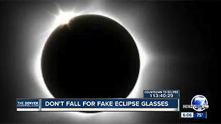 Don't fall for fake solar eclipse glasses - Video