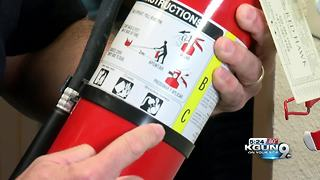 Fire extinguisher safety tips after national recall