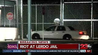 Riot reported at Lerdo Jail - Video