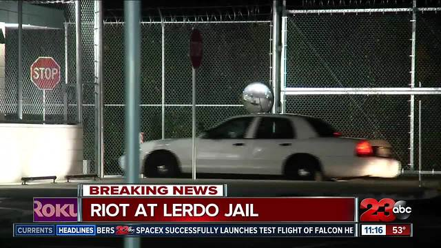 Riot reported at Lerdo Jail