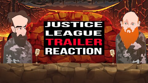 JUSTICE LEAGUE TRAILER REACTION ||BUER BITS||