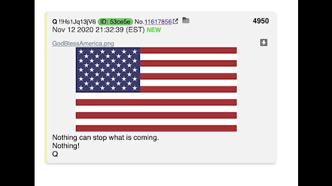 Trump Admin Has All the Fraud Evidence, New Q Posts, Huge Win in PA