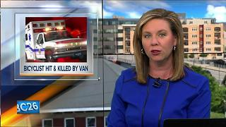 Minnesota bicyclist dies after being hit by van in Door County - Video