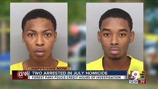 Two suspects charged in Forest Park shooting death