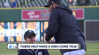 Tigers help Make-A-Wish teen's dream to attend All-Star Game come true - Video