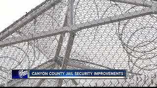 Canyon County Jail makes security improvements at tent facility - Video