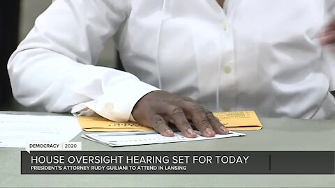 Michigan House Oversight hearing set for Wednesday