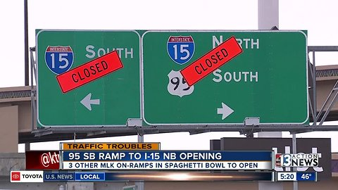 Big changes on Spaghetti Bowl with MLK ramps set to reopen