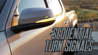 Sequential Turn Signal Install