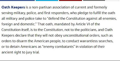 """Oathkeepers Issue Warning to Patriots Beware of False Flags that are Now Being Set"""""""