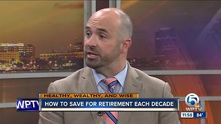 Tips for saving for retirement each decade of your life - Video