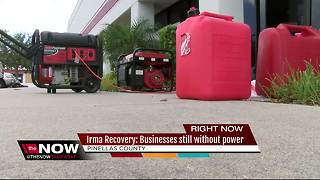 Irma Recover: Businesses still without power - Video