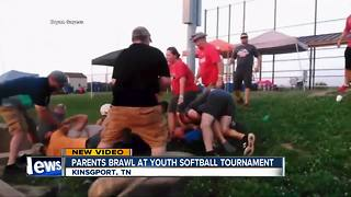 Parents fight at youth softball tournament