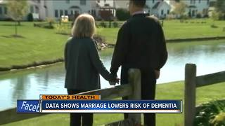 Study shows married people are less likely to develop dementia - Video