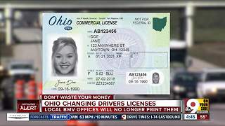Big change coming to Ohio drivers' licenses - Video
