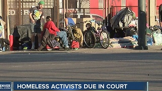 3 Denver homeless people to be arraigned Wednesday - Video