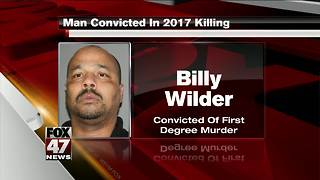Man convicted in 2017 killing outside liquor store - Video