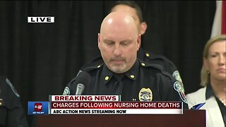 Charges following nursing home deaths