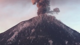 Indonesia's Krakatau Volcano Spits Lava Bombs and Boulders in Spectacular Eruption