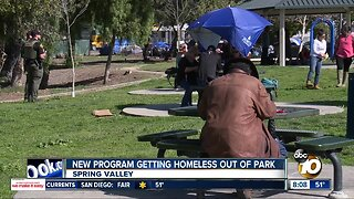New program getting homeless out of Spring Valley park