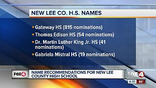 Naming of new Lee County high school continues