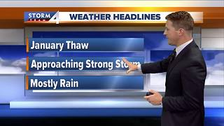 January thaw brings mild temperatures - Video