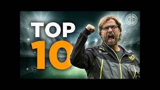 Top 10 Jurgen Klopp Moments! - Video