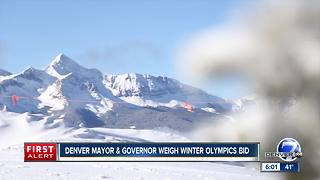 Colorado mulling bid for Winter Olympics - Video