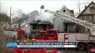 Red Cross provides proof it did pay family