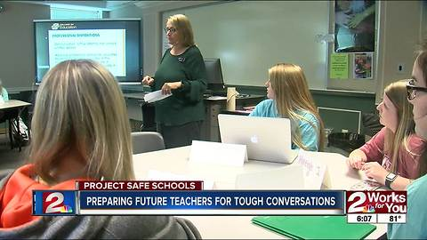 Colleges teach future educators about shootings