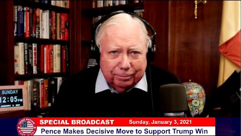 Dr Corsi SPECIAL BROADCAST 01-03-21: Pence Makes Decisive Move to Support Trump Win