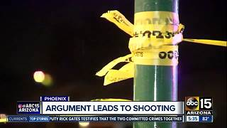 Argument leads to shooting in Phoenix - Video