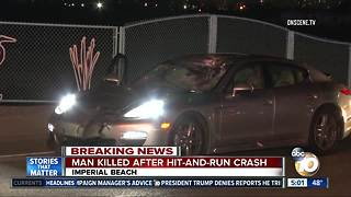 Man killed after hit-and-run crash - Video