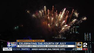 Parades, fireworks planned throughout Maryland for Fourth of July - Video