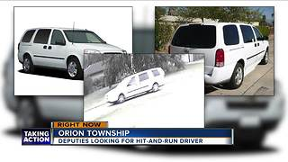 Oakland Co. Sheriff's Office looking for hit-and-run suspect that struck woman walking her dog - Video