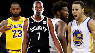 Lebron, Embiid, KD Or Curry? Making A Case For This Years' NBA MVP