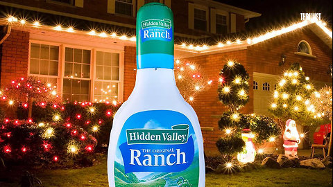 HIdden Valley Unleashed a Holiday Collection of Ranch Dressing-Themed Decor