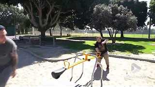 Seesaw to the family jewels - Video