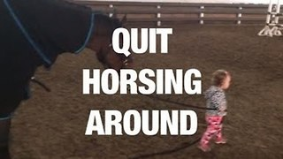 Quit Horsing Around - Video