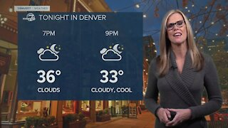 Mild today, snow by Saturday for Denver