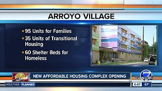 New affordable housing development complex opens