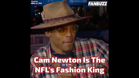 Cam Newton Is The NFL's Fashion King