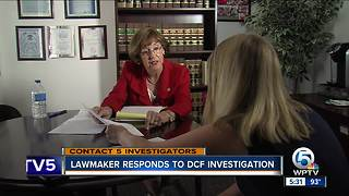 Lawmaker responds to DCF investigation - Video