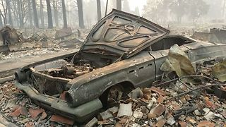 Custom Car Garage Owner Recovering from California's Tubbs Fire - Video